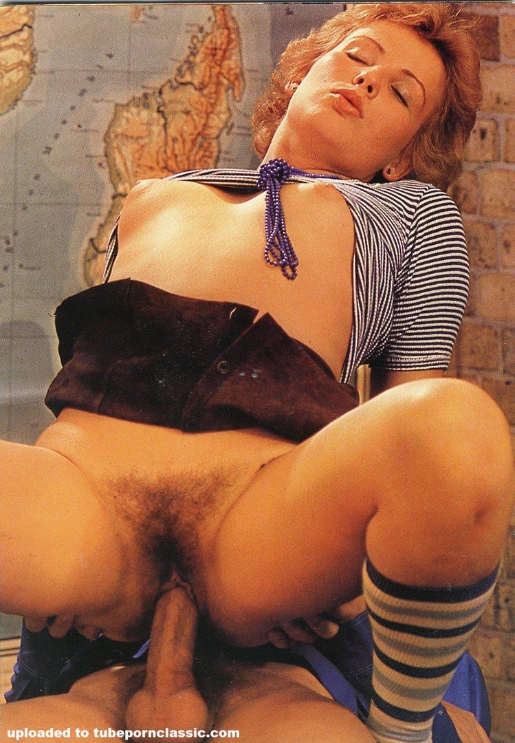 Exotic Porn Photo Retro Hot Pretty One