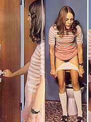 Horny retro xxx photo set from the Golden Time