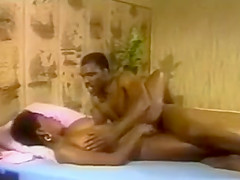 Exotic classic sex scene from the Golden Century