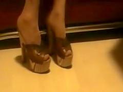 Wooden Heels Vintage