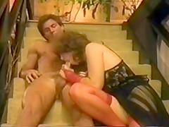 Annie sucks and fucks