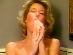 candy evans takes a bath