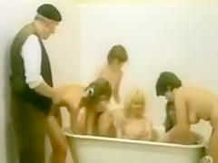 vintage hairy shower 002