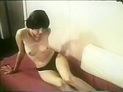 Short Hair Shy Striptease