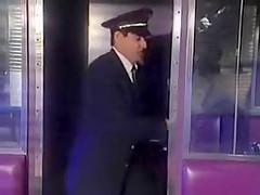 Anna Malle fucks in train