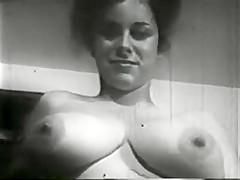 Stately Lady Taking A Bath