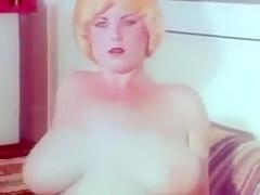 Vintage Solo Big Boob Blonde