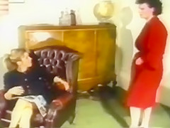 Retro Dress Ripping Catfight