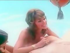 Vintage Sunbather's Threesome