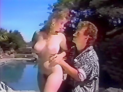 Jeanna Fine gives poolside BJ