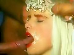 Ilona Staller get 3some facial