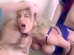 Big boobs threesome.(classic)