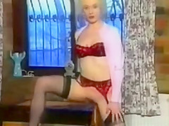 Vintage Bedpost Insertion Scene
