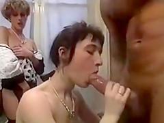 Rocco fucks two french porn tarts