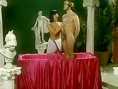 Caesar and his Blowjob Servant Girl