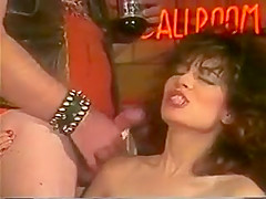 Christy Canyon gangbanged by bikers