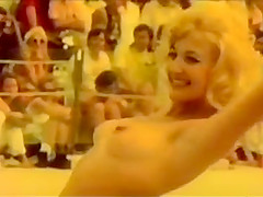 vintage seventies miss nude contest