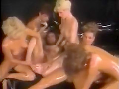 American Classic Lesbian Oil Orgy 80s