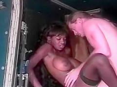 Dominique Simone fucks with white gay