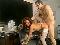 FRENCH BRUNETTE FUCKED AT THE OFFICE