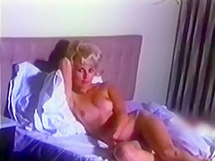 IN DREAMS - vintage blonde striptease