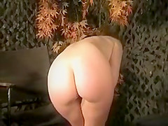Susanna Francessca army girl striptease
