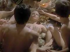 Laure 1976 (Threesome erotic scene) MFM