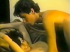 Sexy MILF seduces son's friend - vintage