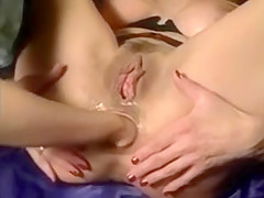 Mature Woman fucked and double fisted...F70