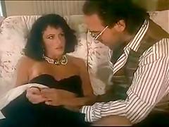 Italian retro hairy anal MILF in stockings.