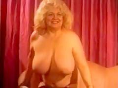Solo #70 Busty Blonde BBW Mature (Vintage)