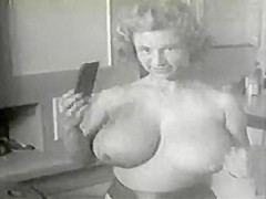 Virginia Bell - Big Busty Kitchen Housewife