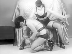 Vintage Stripper Film - B Page Sorority Girl