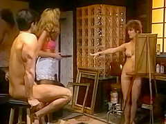 The art of the nice sex in this vintage scene