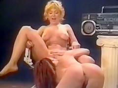Nina Hartley And Unknown Woman Lesbian Scene 1