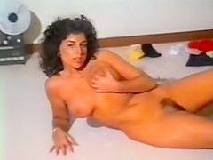 Sarah Young touching herself in very early video