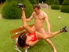 Sexy girls including double fisting scene Debora
