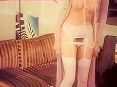 White Lingerie MILF Jerk Off Encouragement - JOE