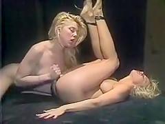 80s pornstar, Marilyn Jess,others in long orgy scene