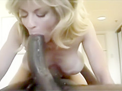 80s hotwife takes huge BBC and creampie. Vintage