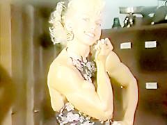 oldschool muscle girl