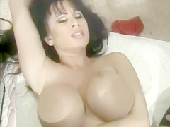 Vintage German black haired busty anal