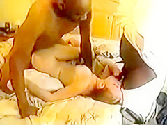 Dumb cute pornstar wanna be let's black bull go bareback, gangbang, vintage