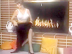Vintage striptease music video - Lee Germaine - Light My Fire