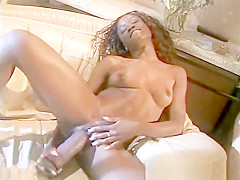 Ebony MILF Home Alone