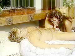 Beautiful lady in retro porn movie