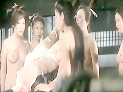 Classic Catfights-Nude Catfighting Women