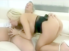 vintage blonde cougar mature milf long nails big tits hardcore