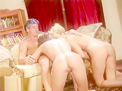 A Vintage Porn Orgy Party Blowjob