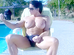 ANGELA SALVAGNO MASTURBATING